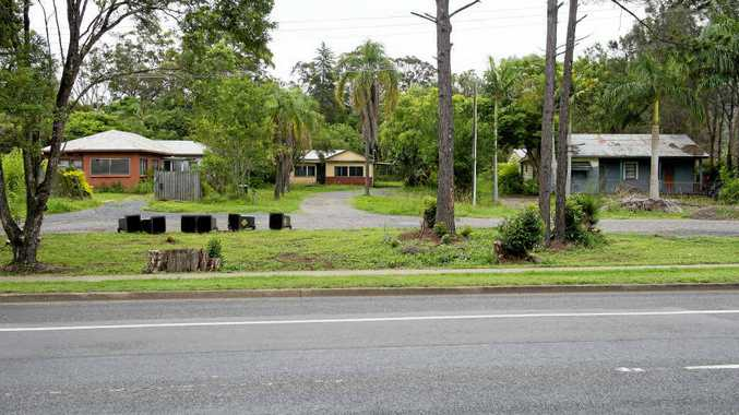 GOING, GOING, GONE: The three houses to be demolished to make way for a new Coles servo.