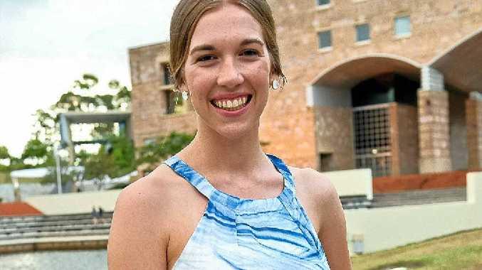DEDICATION: Amy Hiscox has earned a prestigious scholarship at Bond University.