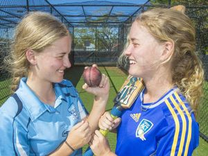 Seam-bowling sisters make the grade