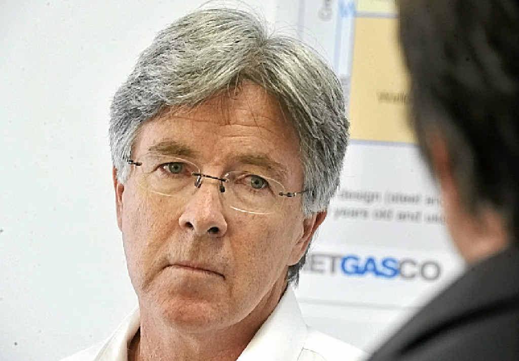 Metgasco managing director Peter Henderson