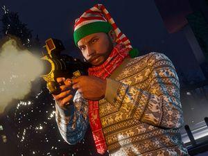Grand Theft Auto 5 gets Christmas revamp