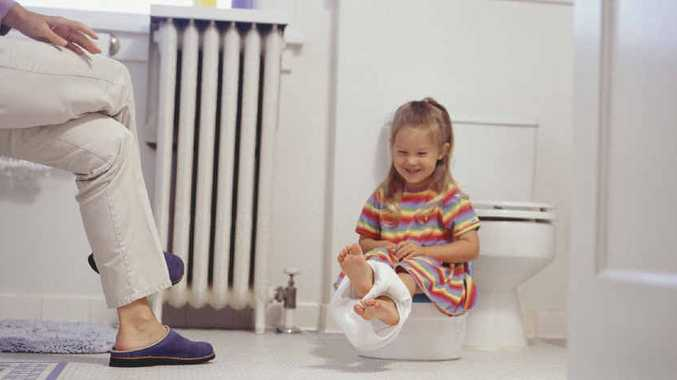 NO MORE NAPPIES: Does waiting until children are ready to use the potty really pay off?