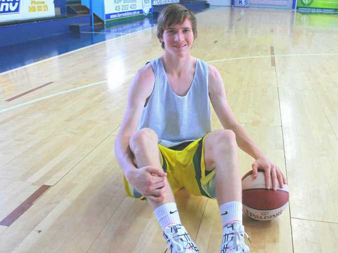 WORK TO DO: Rockhampton basketballer Jared Blanchard's recent US tour with the School Sport Australia under-18 men's basketball team has provided him with extra motivation to improve his game in 2015.