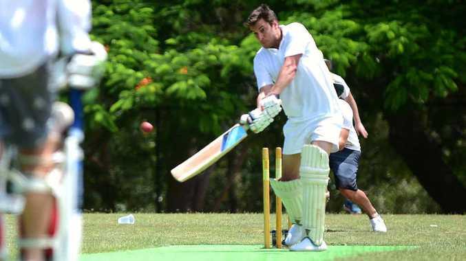 "EYE ON THE BALL: Batsman Luke ""Civo"