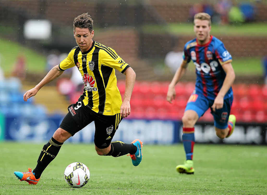Nathan Burns has been in great form for Wellington this season.