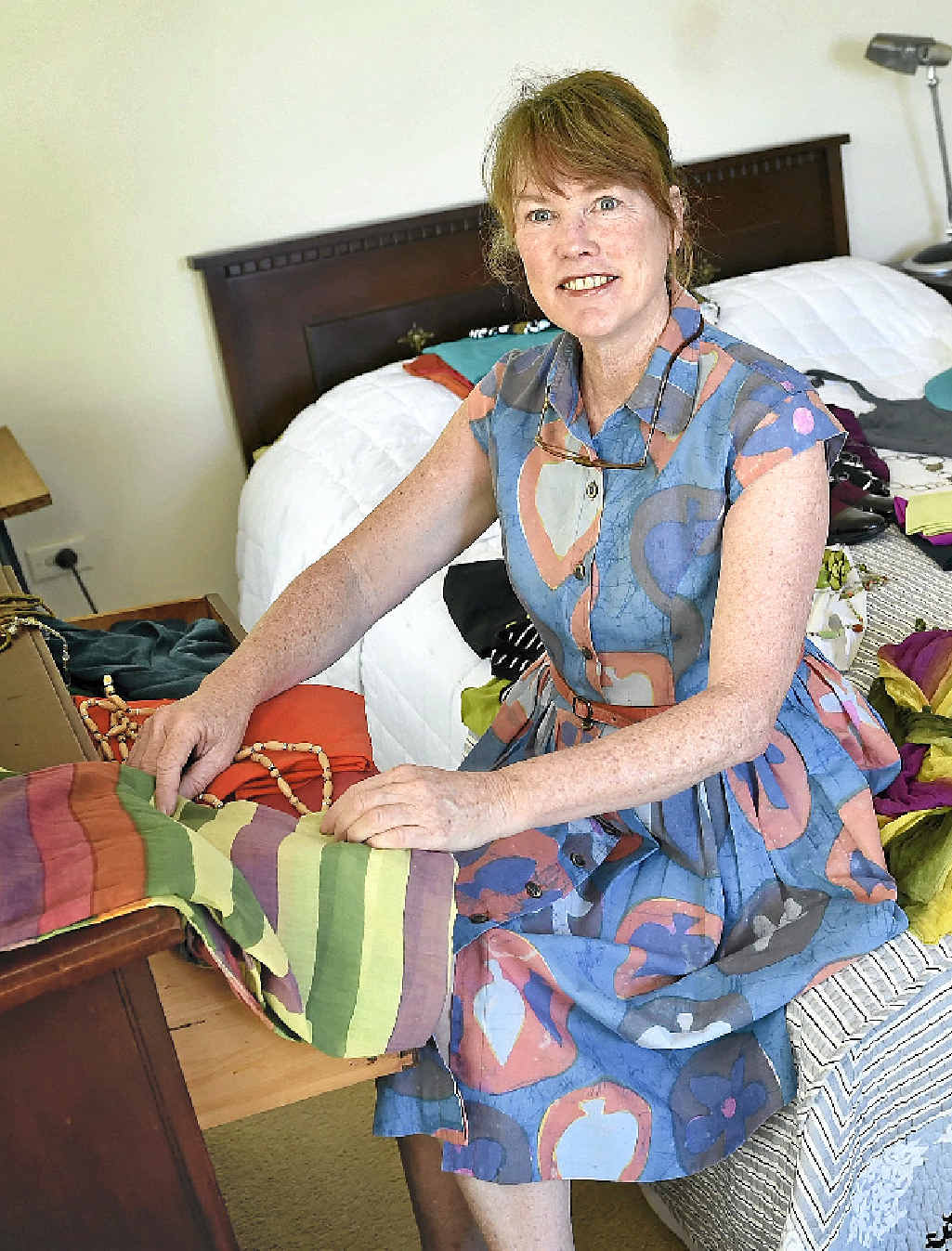 WARDROBE MAKEOVER: Wardrobe therapist Margaret Adam shares her tips for revamping your wardrobe for a New Year's resolution.
