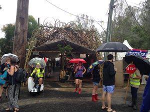 Wet start hasn't dampened Woodford Folk Festival