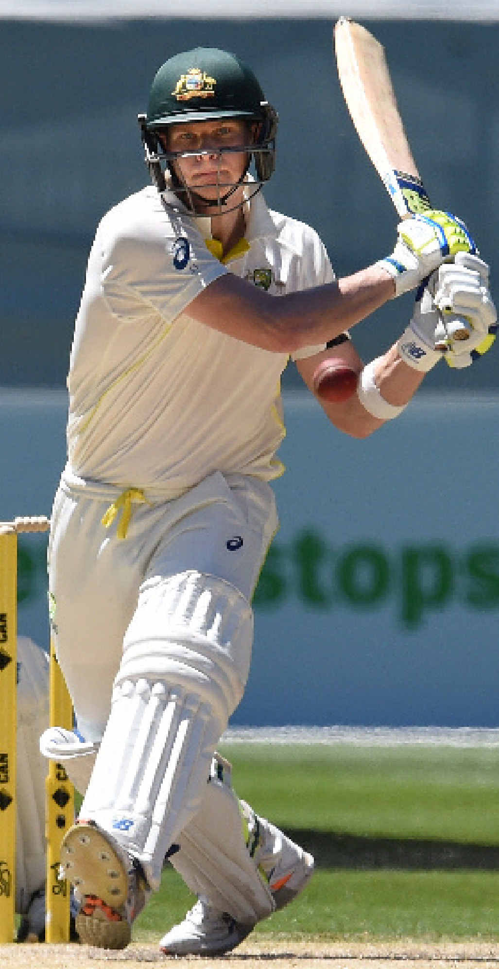 GREAT KNOCK: Aussie skipper Steve Smith.
