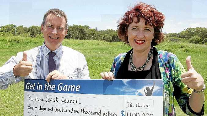 The 2.8ha site, behind the Coolum-Peregian RSL will become part of the Coolum Sporting Complex, already home to tennis, soccer, netball, league and cricket.