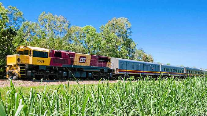 LAST JOURNEY: Queensland Rail's Sunlander will visit Mackay on December 31 before being taken off the rails for good.