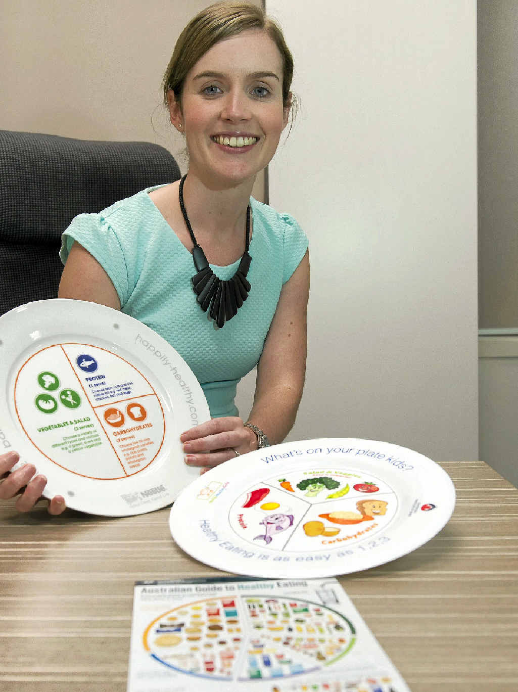 KICK YOUR GOALS: Queensland Centre for Digestive Medicine dietician Dr Hannah Slattery shares her tips on how to keep a healthy diet as a New Year's resolution.
