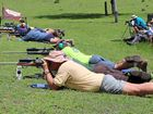ALL GUNS BLAZING: Gatton-Glenore Grove Rifle Club members enjoyed a social shoot on Saturday after working hard installing new upgrades.
