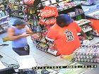 Armed robbers strike servo
