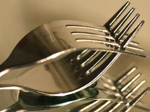 Assault charge after pub diner prodded with fork