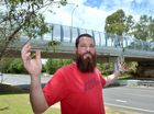 PAINT THE BRIDGE RED: Chris Sharkey wants to rename the Kiel Mountain overpass after Daniel Morcombe. Photo: John McCutcheon / Sunshine Coast Daily