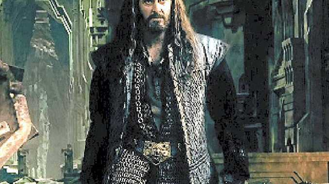 BIG LESSONS: Richard Armitage in a scene from The Hobbit: The Battle of the Five Armies.
