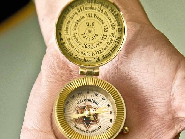 STOLEN JEWELLERY?: Toowoomba police are looking for the owner of this Jerusalem Kosher Compass found during a burglary investigation.