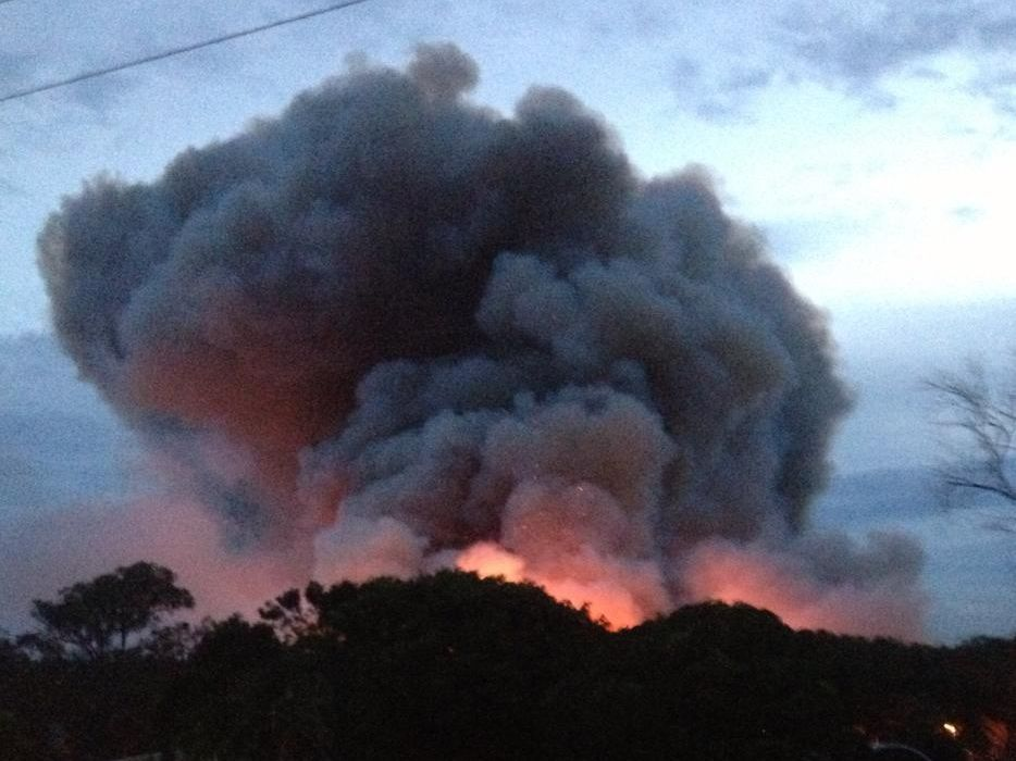 An investigation has been launched into the fire at Pottsville over Christmas 2014.