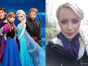 "From sales assistant to ""UK's official Elsa lookalike"""