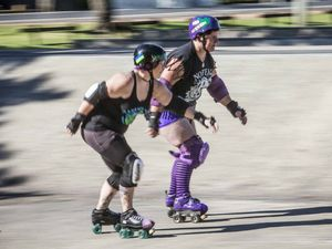 Skater says roller derby ideal antidote for depression
