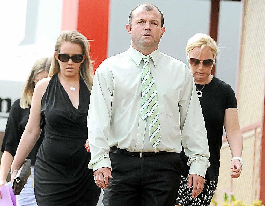 DECEMBER: Craig Field, found guilty of the manslaughter of Kelvin Kane.