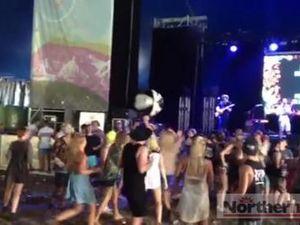 Fun at Falls Festival