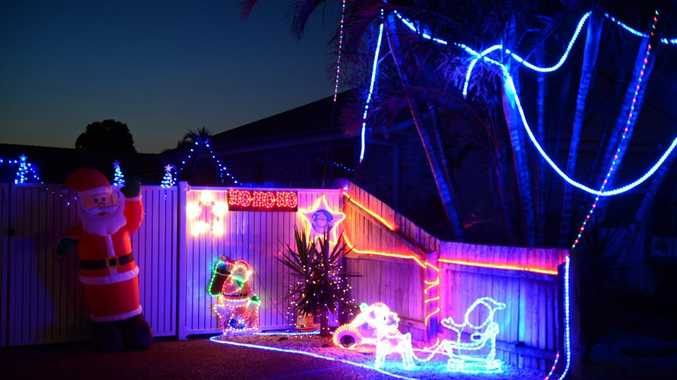 Bundaberg Christmas lights map 2018