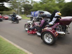 Toy run roars through streets