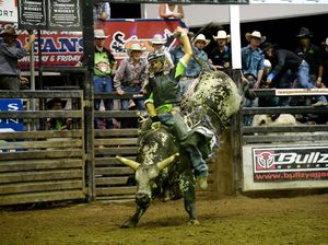 18-year-old Tyler Morgan wins Beef City Rodeo