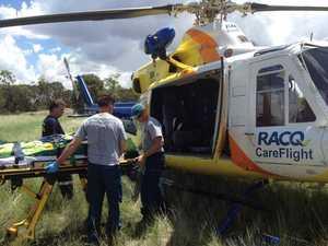 Toowoomba chopper airlifts Tara boy injured in pool