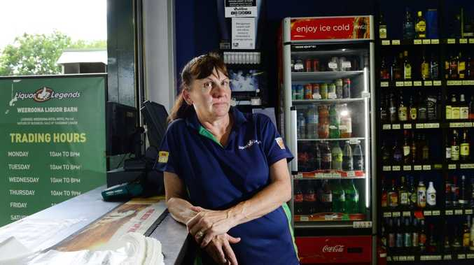 SMART: Weeroona Liquor Barn manager Kathy Wolfe was too alert for a man who tried to pass a dud $100 note.