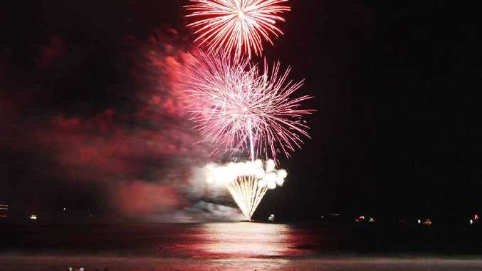 OFF WITH A BANG: Mooloolaba New Years Eve, December 31, 2014.