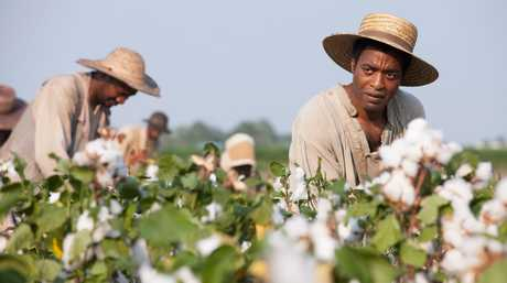 Chiwetel Ejiofor in the movie 12 Years A Slave.