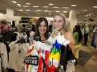Joanne (left) and Francesca Munchow got in early to the Boxing Day sales at Myer Toowoomba, Friday, December 26, 2014. Photo Kevin Farmer / The Chronicle