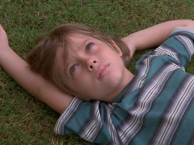 Ellar Coltrane in a scene from the movie Boyhood.
