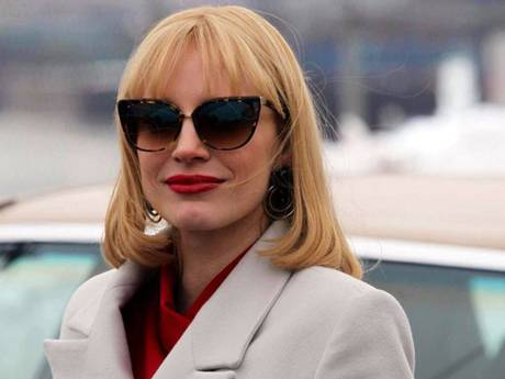 Jessica Chastain as Anna Morales in A Most Violent Year