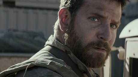 Bradley Cooper as Navy SEAL Chris Kyle in American Sniper