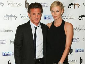 No ring but Charlize Theron and Sean Penn reportedly engaged