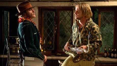 Joaquin Phoenix and Owen Wilson in Inherent Vice Joaquin Phoenix and Owen Wilson in Inherent Vice