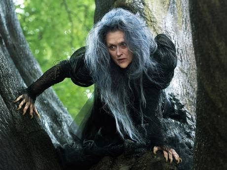Meryl Streep is on top form as the Witch in the film adaptation of stage musical 'Into the Woods'