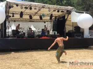 Greg Sheehan Collective entertains dancer