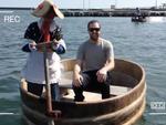 David's Japanese bus tour on the island of Sado