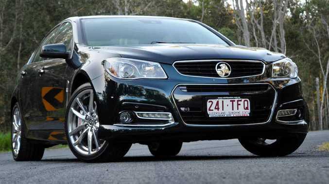 SEDANS RULE: Sunshine Coast drivers prefer sedans such at the Holden Commodore.