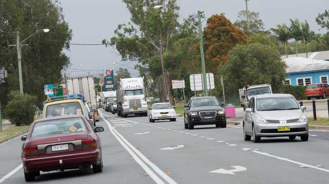 Heavy traffic flows are causing congestion on the Pacific Highway.