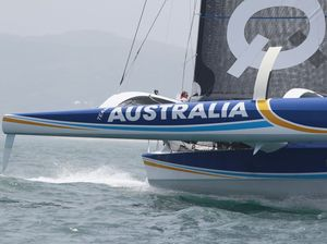 Wind drop puts Pittwater To Coffs fleet in slow procession