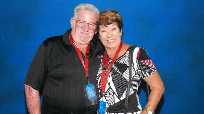 HORROR CRUISE: Max Chapman and June Moore had high hopes when they boarded their first cruise in Brisbane but they now say 'never again'.