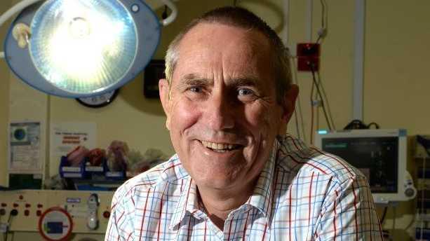 Dr Doug Turner at the Tweed Heads Hospital. Photo: John Gass / Tweed Daily News
