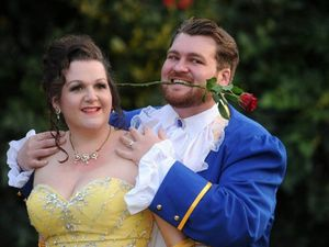 Toowoomba's beauty and beast tie knot at Disney wedding