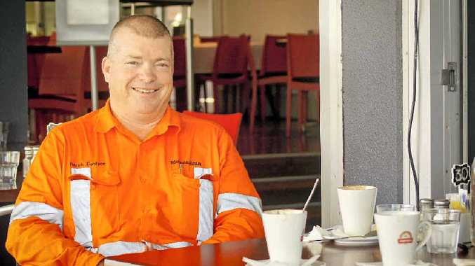 Rio Tinto Alcan Yarwun general manager operations Pat Fordyce.