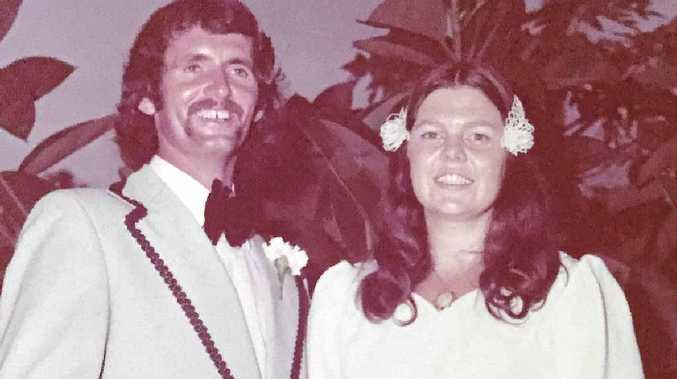 SIGNING ON FOR LIFE: Tony and Gail Sellers celebrated their 40th wedding anniversary on January 4.